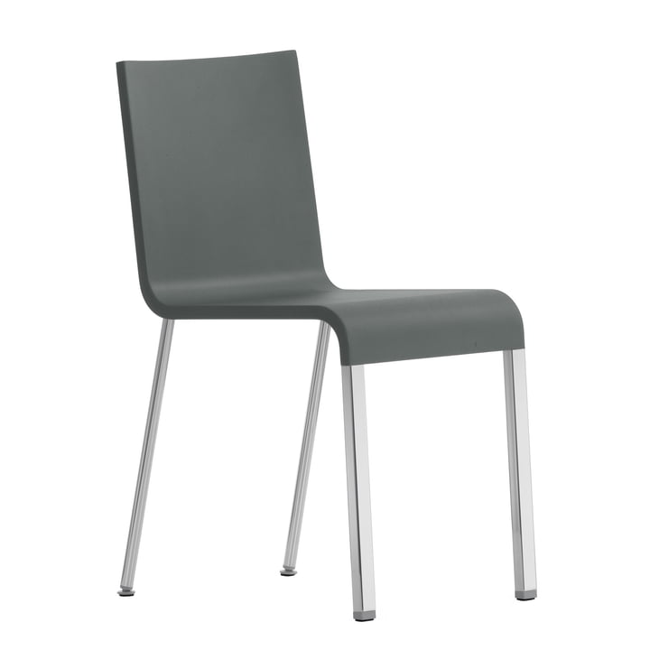 .03 Chair by Vitra in silver/ grey