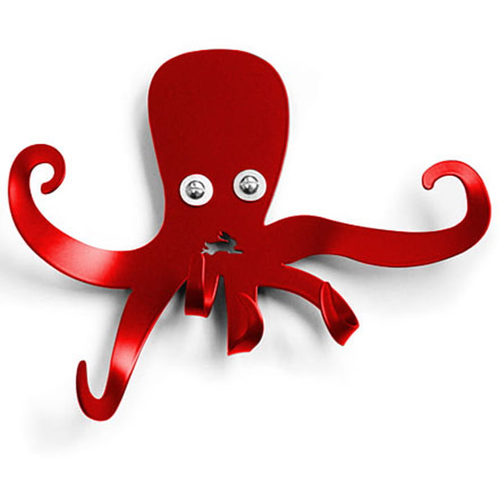 Haseform Animal Wardrobe Octopus red