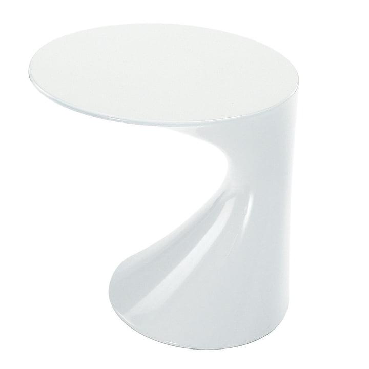 Zanotta Tod Side Table, white