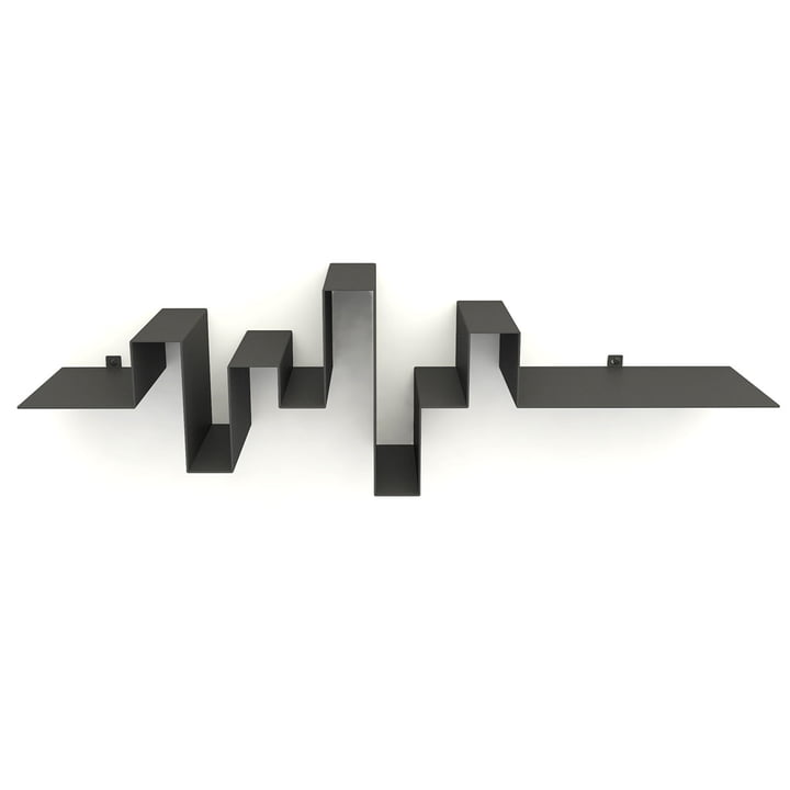 Storylines shelf, dark grey