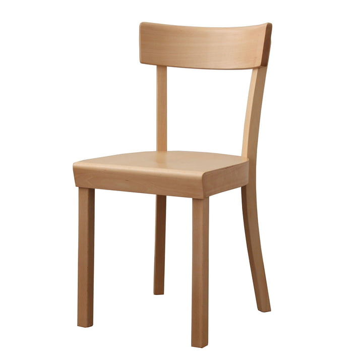 Frankfurt Chair - natural beech, matte lacquered
