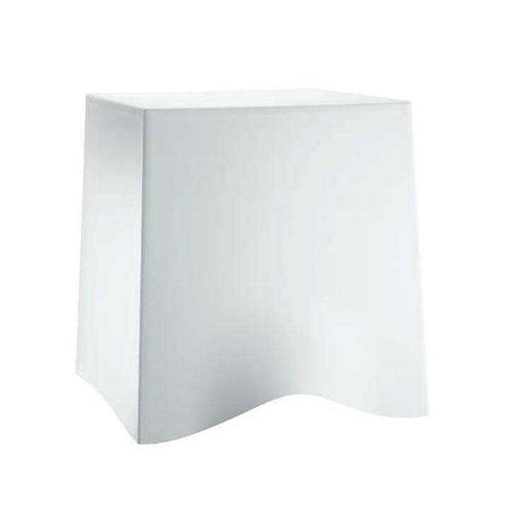 Briq stool by Koziol in white