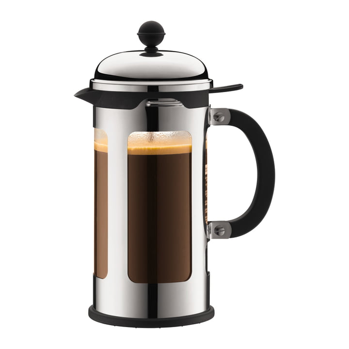 Bodum Chambord Coffee Maker with Spill Over Protection, 8 cups