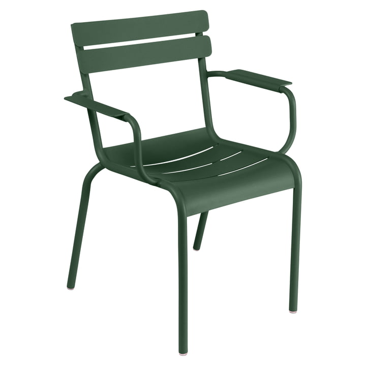 Luxembourg Armchair by Fermob in ceder green