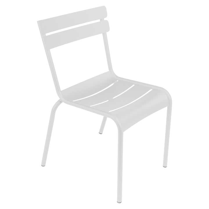 Luxembourg Chair by Fermob in cotton white