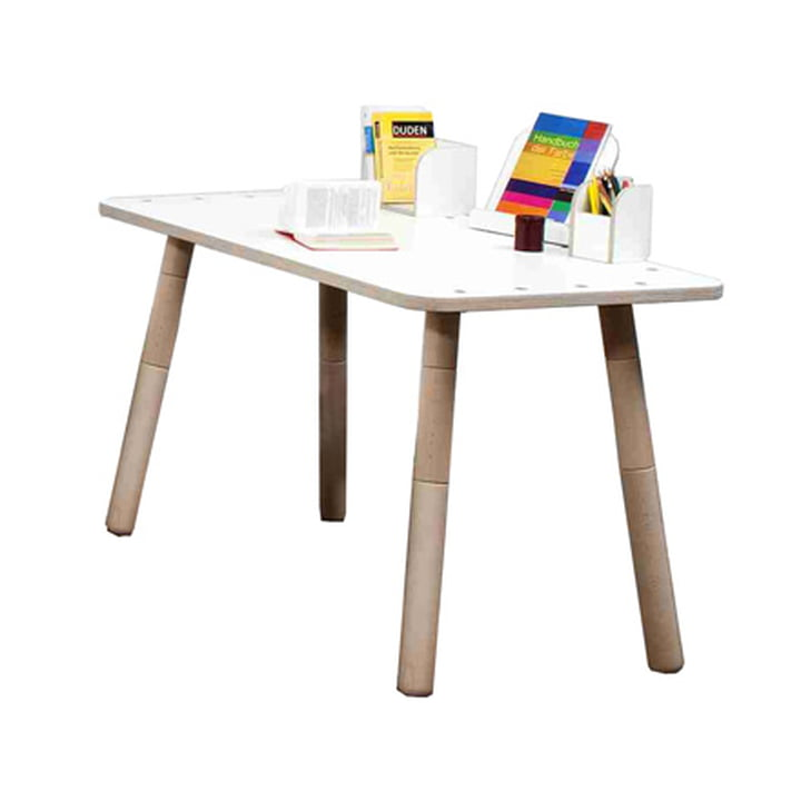 Pure Position - Growing Table in white