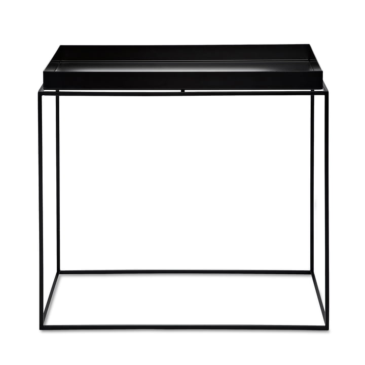 Tray Table 60 x 40 cm from Hay in black