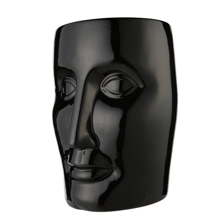 Bonze stool, black