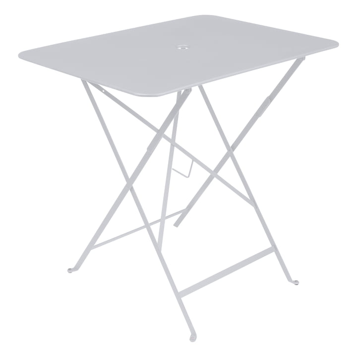 Bistro folding table, rectangular, 77 x 57 cm by Fermob, cotton white