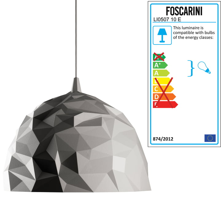 Diesel Living - Rock Pendant Light