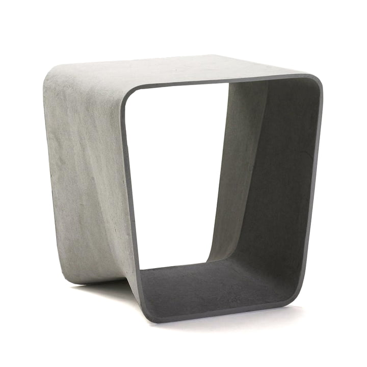 Eternit - Ecal stool, grey