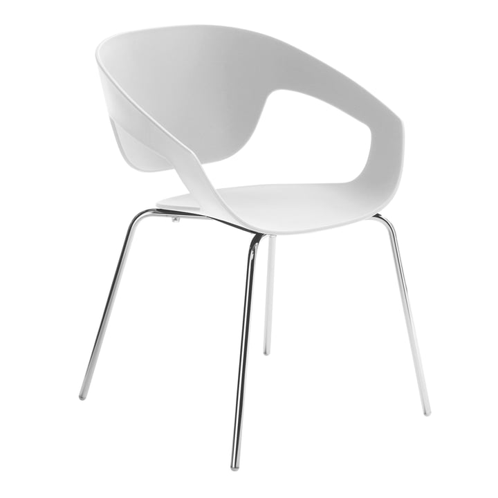 Casamania - Vad Chair in white with four-legged frame