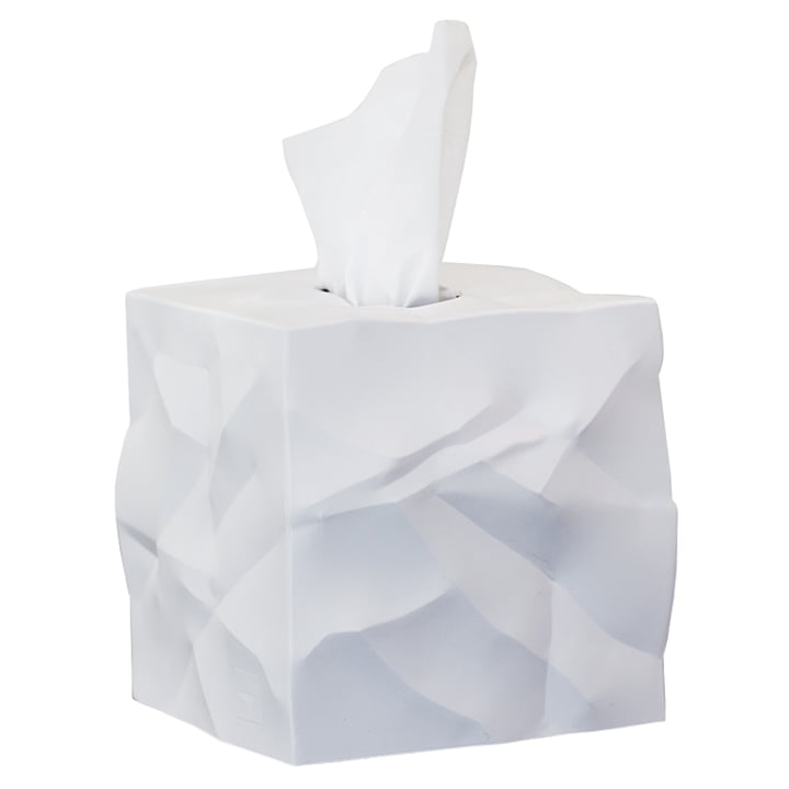 Wipy-Cube Cloth box from Essey in white