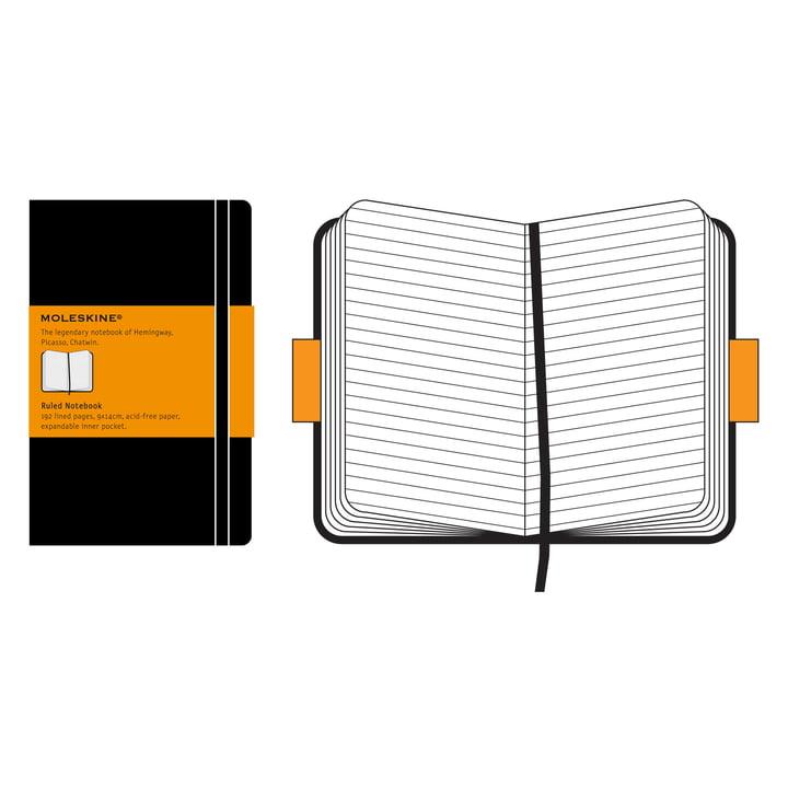 Moleskine - Ruled Notebook