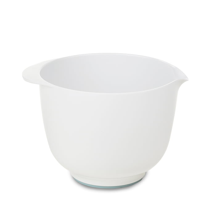 Mixing bowl 1 Margrethe ,5 l from Rosti in white