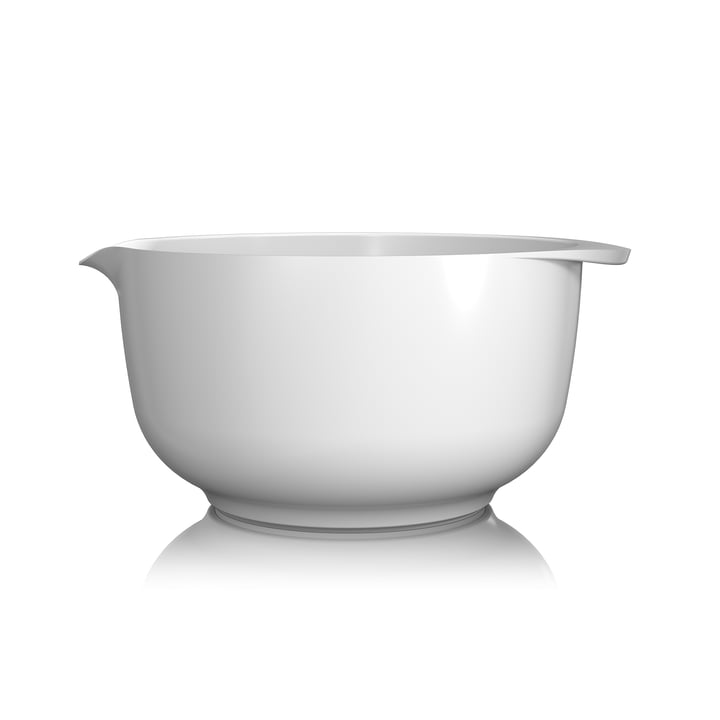 Mixing bowl Margrethe, 4.0 l from Rosti in white