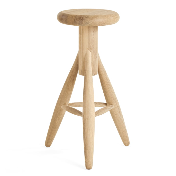 Artek - Rocket stool, soaped