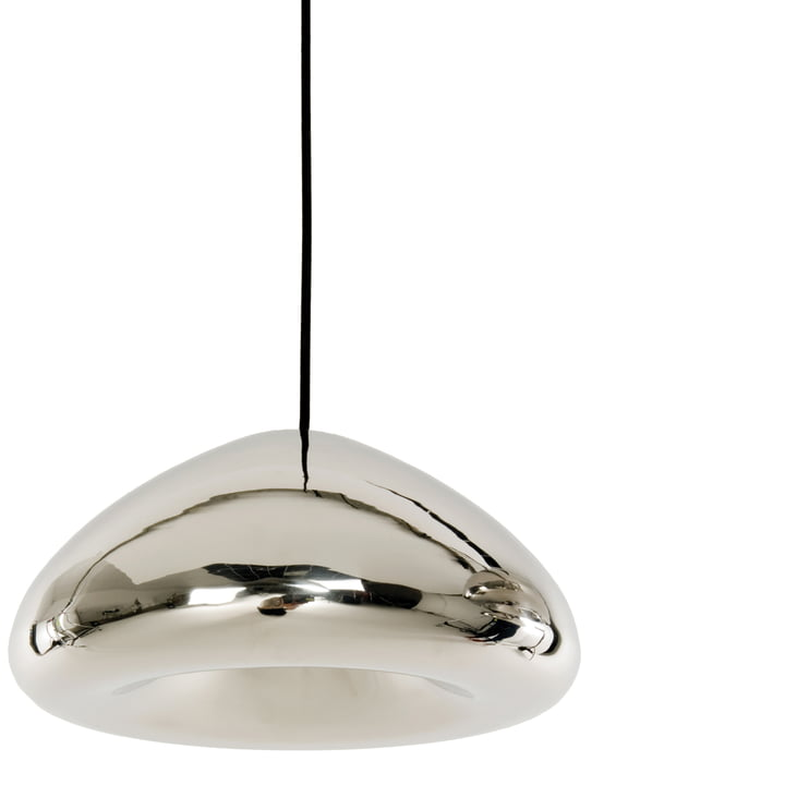 Void Pendant Lamp by Tom Dixon made of stainless steel