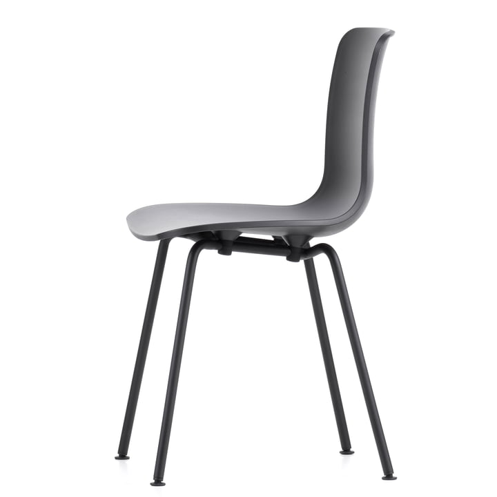 Hal Tube Chair by Vitra in Black