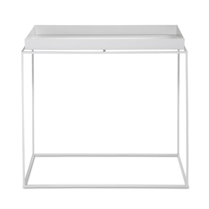 Hay - Tray Table rectangular, 60 x 40 cm, white