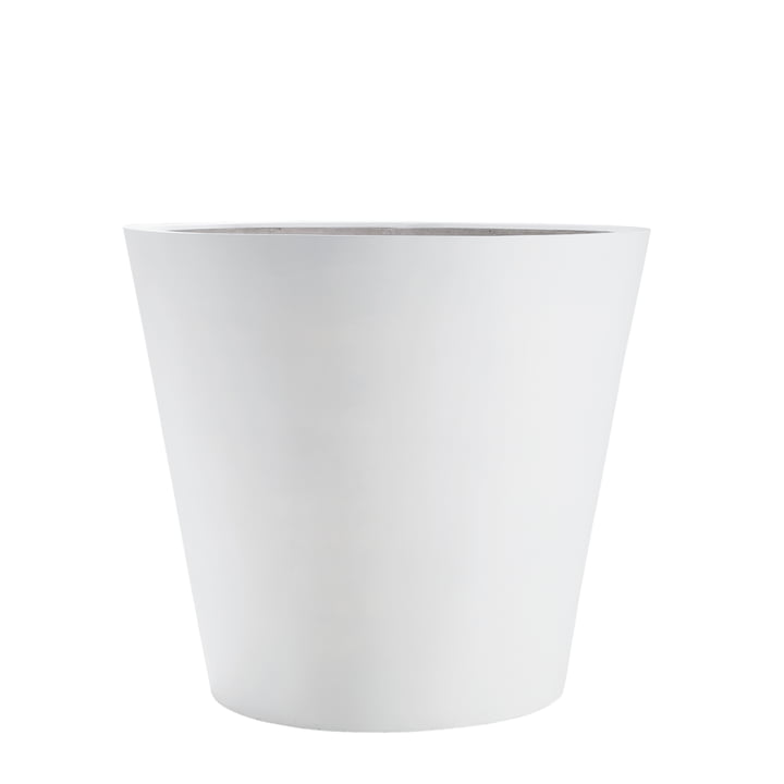 amei - The Round One Planter, M, white