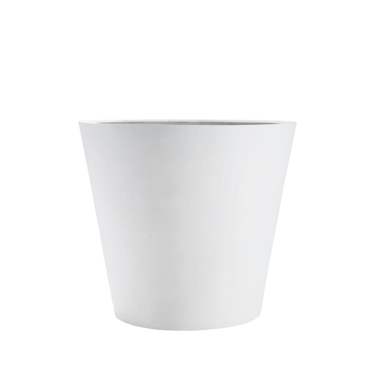 amei - The Round One Planter, S, white