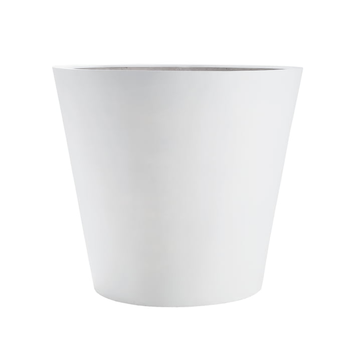 amei - The Round One Planter, white