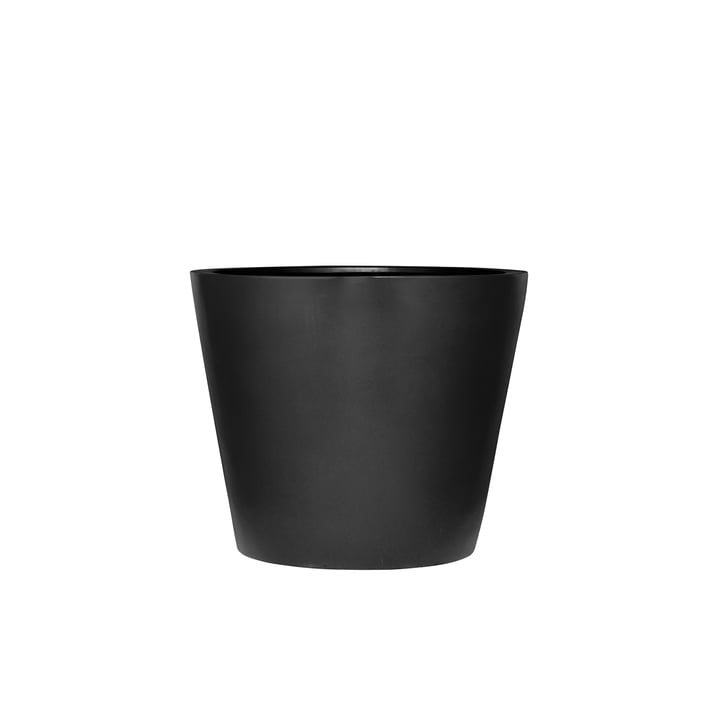 amei - The Round One Planter, XXS, black