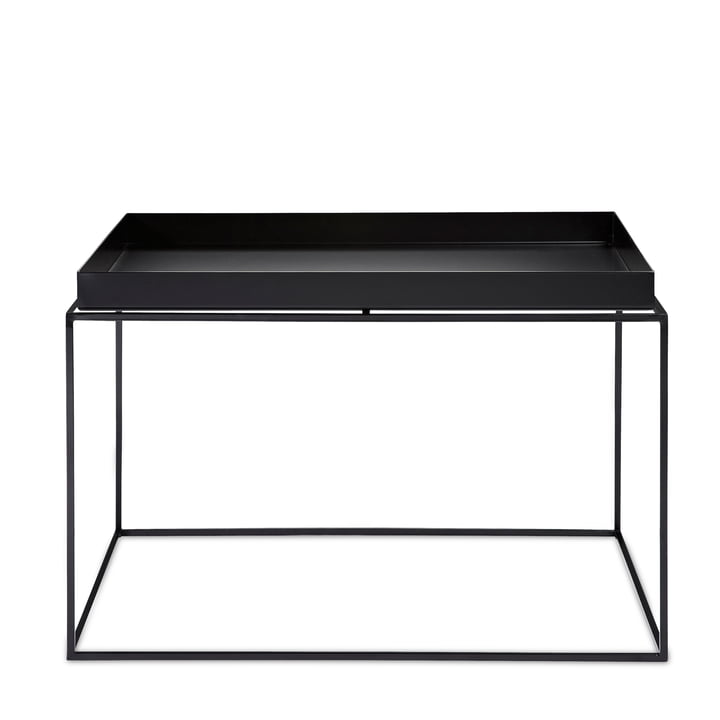 Tray Table 60 x 60 cm from Hay in black