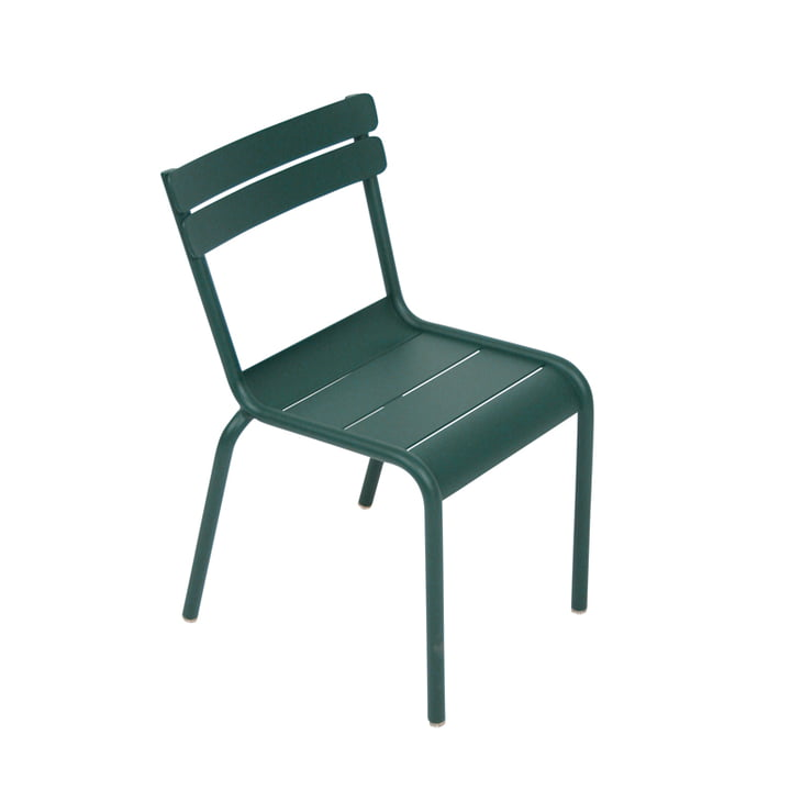 Fermob - Luxembourg Kid Children's Chair, cedar green