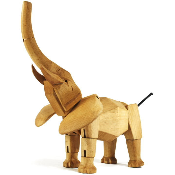 wooden creatures areaware elephant 2