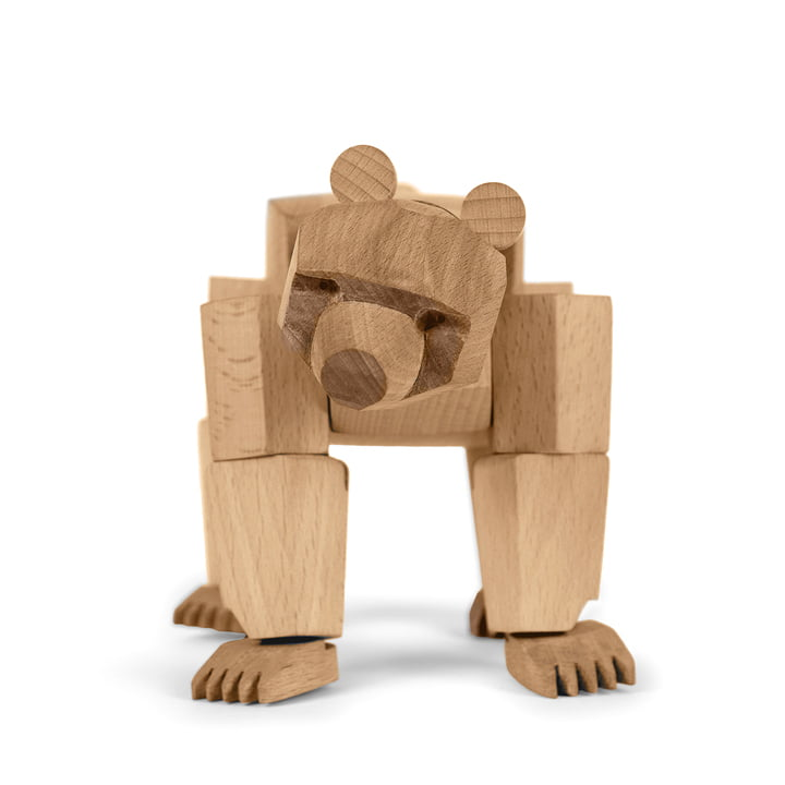 areaware Wooden Creatures - Ursa the bear, small