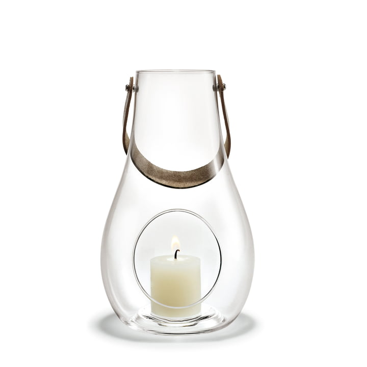 Design with light Lantern H 25 cm from Holmegaard in clear