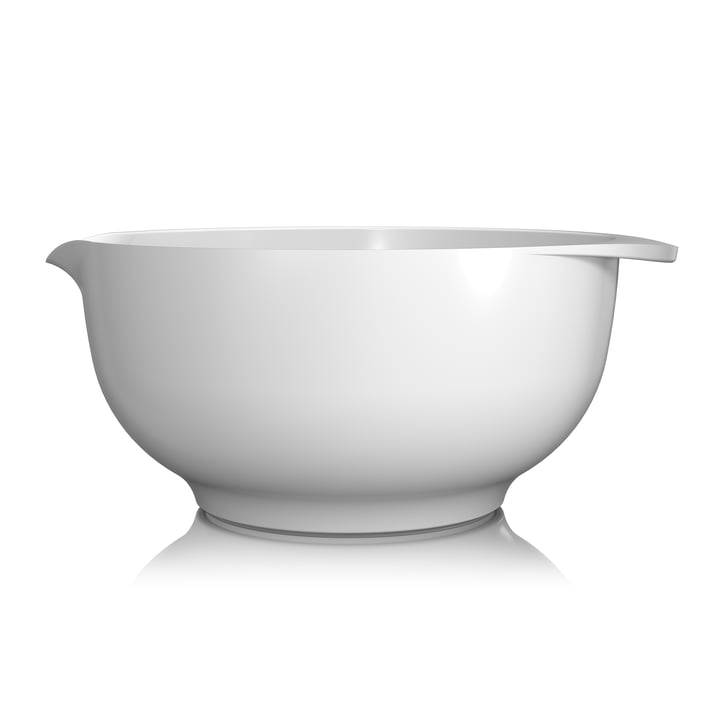 Mixing bowl Margrethe , 5,0 l of Rosti in white