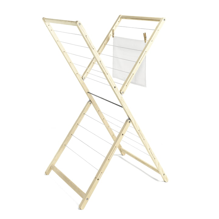 side by side - Clothes Horse New Papa - open