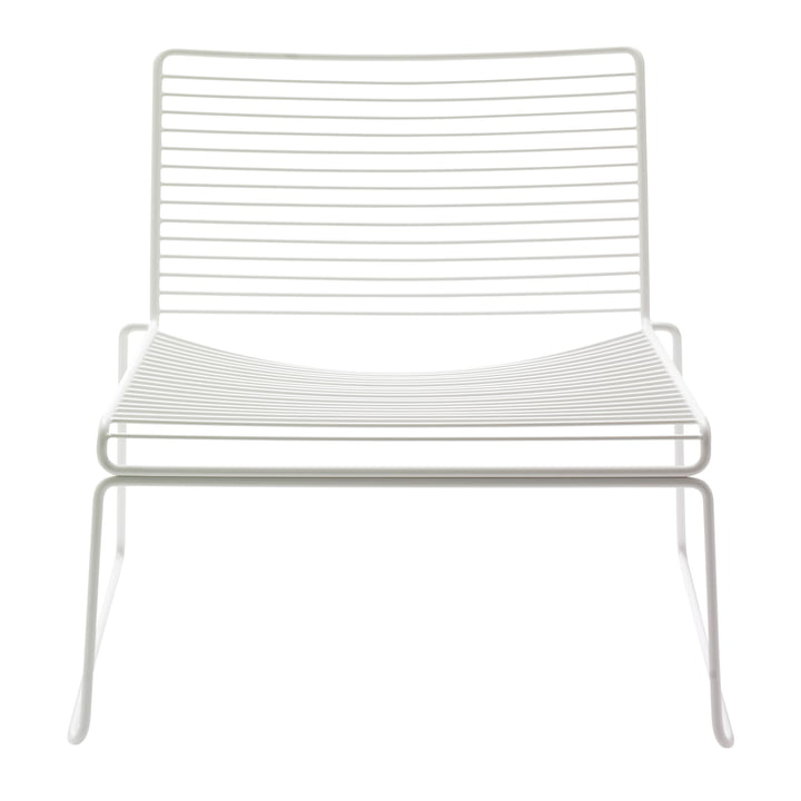 Hee Lounge Chair by Hay in white