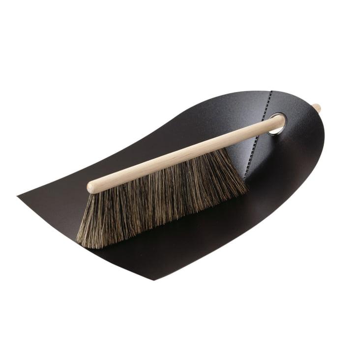 Dustpan and Brush - black