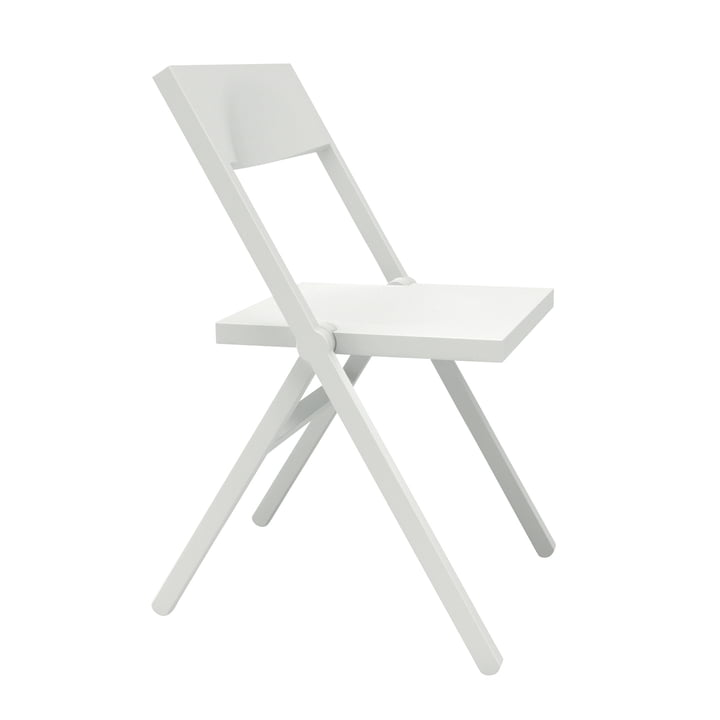 Alessichair by Lamm - Piana Folding Chair, white
