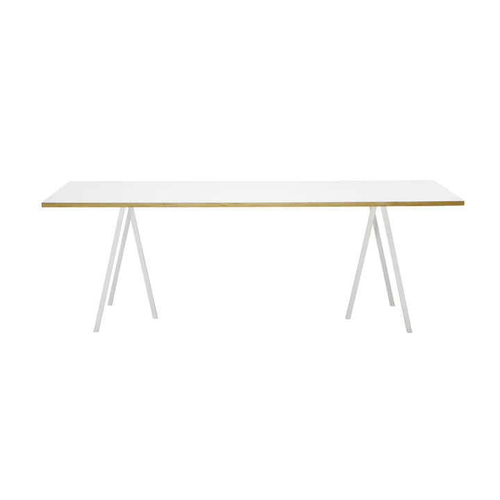 Hay Loop Stand table, 160, white