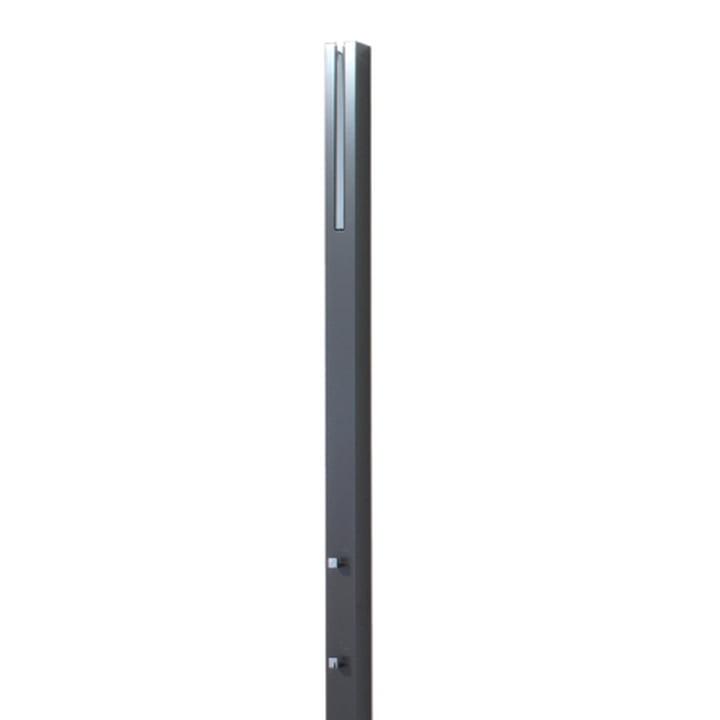 Schönbuch Line wall-mounted coat stand, granite