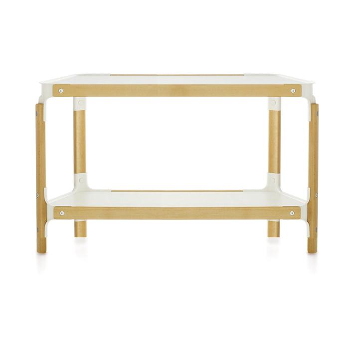 Magis - Steelwood Shelf - 2 / 1, natural beech / white