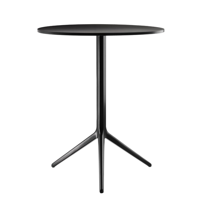 Central Folding table from Magis black