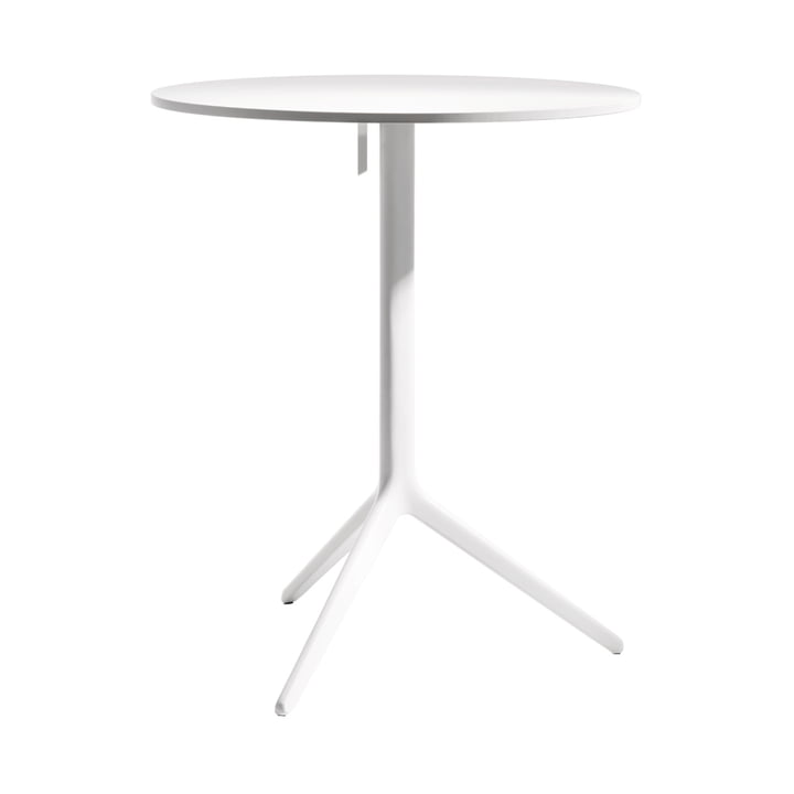 Central Folding table from Magis in white