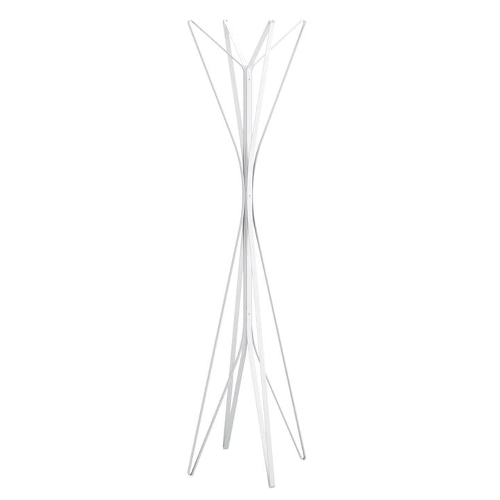 Zanotta - Aster wardrobe, white, 4 Arms