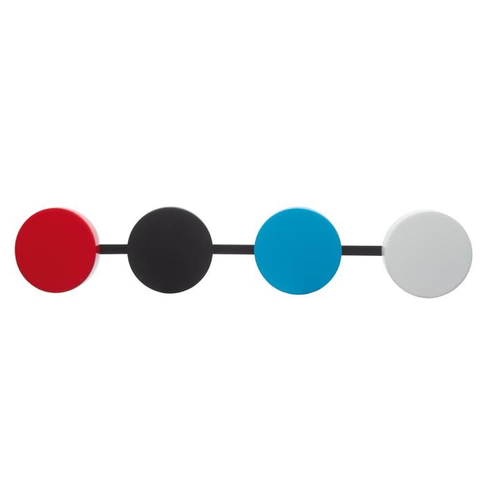 KooKoo - Bird House Cuckoo Clock, pendulum in red, black, blue, white