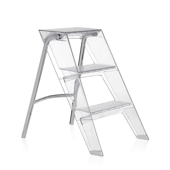 Kartell - Upper folding ladder, crystal clear