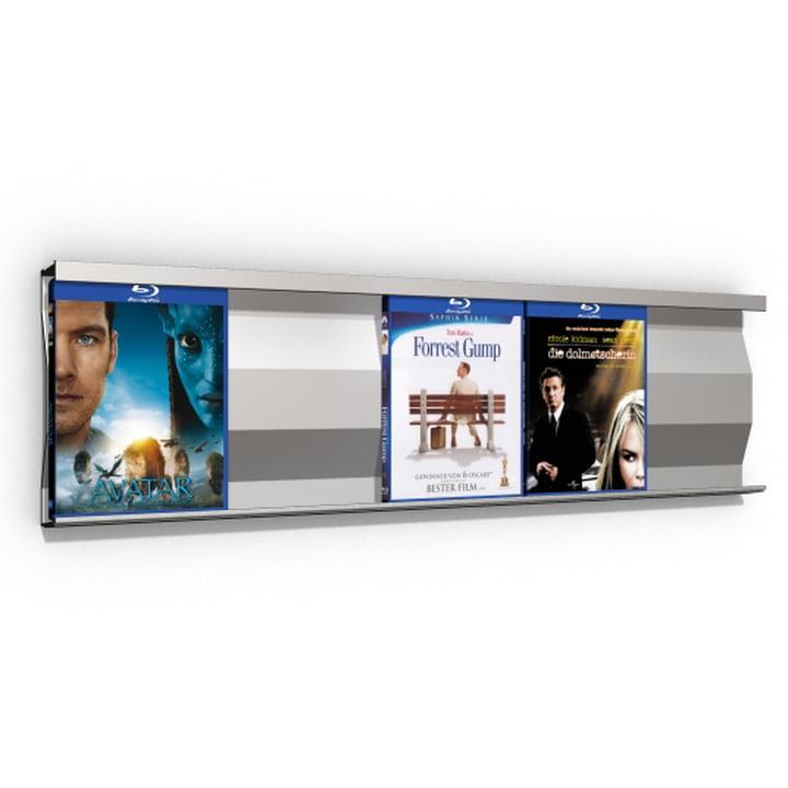 Sigmarail Aluminium Blu-ray Shelving System SR5