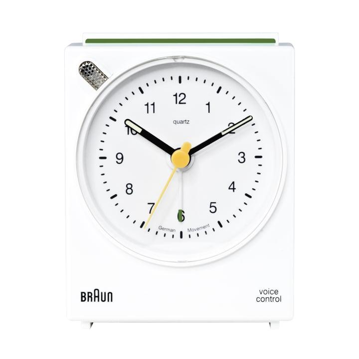 Braun Voice-Activated Alarm Clock BNC004, white