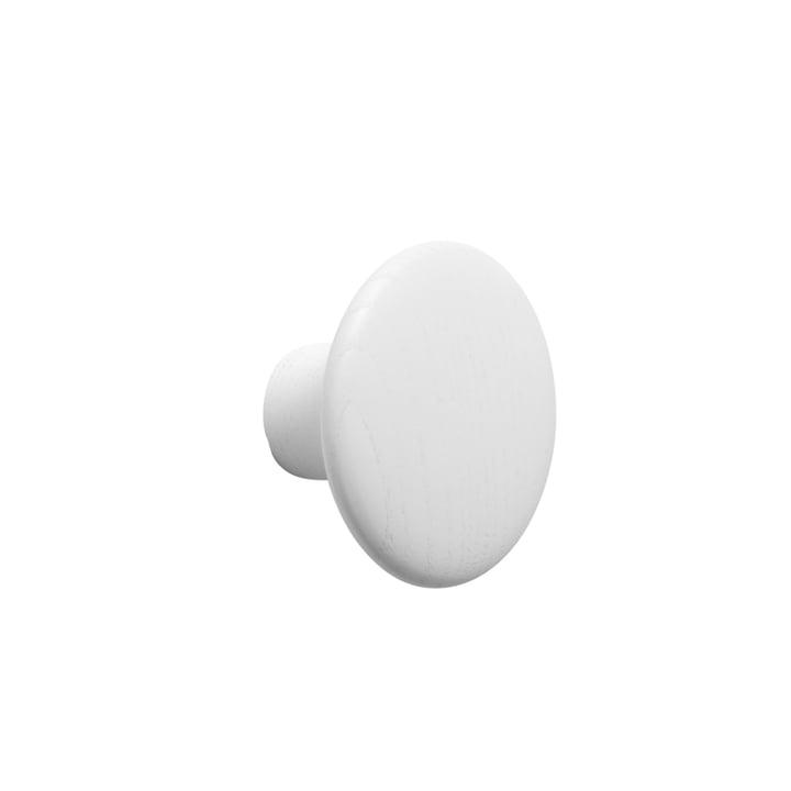 "Muuto Wall Hooks ""The Dots"" - single, white, small"