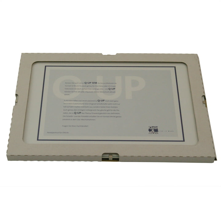 Klein & More - add-on picture frame for Q-Up A4
